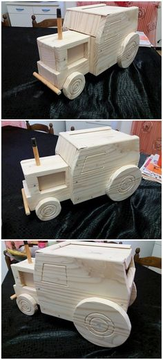 Incredible DIY Ideas Using Old Shipping Wood Pallets: Thinking about adding the old shipping wood pallets in your house furniture list options turns out to be one of the outstanding and. Diy Pallet Projects, Wood Projects, Pallet Furniture, Home Furniture, Kids Jeep, Wood Pallets, Pallet Wood, Bird Barn, Pallet Creations
