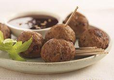 Meatballs -- a perfect Mrs. Dash recipe - mrsdash.com #saltsubstitute #nosalt #sogood