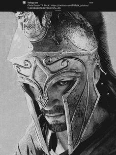 Spartan Tattoo, Gas Mask Art, Greek Mythology Tattoos, Pencil Portrait Drawing, Roman Warriors, Greek Warrior, Spartan Warrior, Chest Piece Tattoos, Warrior Tattoos