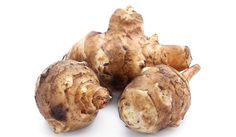 Root sunchoke and all of its healthy benefits that this plant can provide. How can this be prepared making healthy meals and consuming. Healthy Cooking, Healthy Eating, Healthy Recipes, Healthy Meals, Healthy Food, Natural Healing, Baked Potato, Paleo, Potatoes