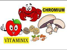 Vitaminix - Kids Learning Videos About Food & Health - Chromium