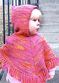 Image result for knitting baby poncho easy pattern ...