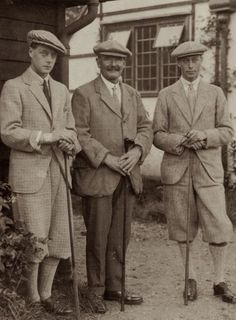 Prince of Wales (later King Edward VIII & The Duke of Windsor) & The Duke of York (later King George VI)
