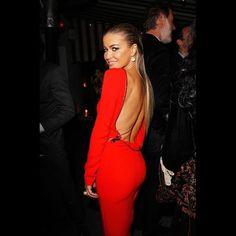 Red Long Sleeve Kim Kardashian Bodycon Sheath Slim Prom Knee Length Cocktail Gowns Celebrity Dresses 2017 Open Zipper Back K2