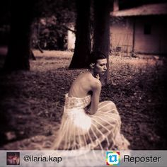 Repost from @ilaria.kap by #Reposter @307apps # Editorial #shooting #oldpics #backstage  #longdress #wedding #skinny #shoulders #modellife #italianmodel #model #pastore @pastore_couture #wood #white #shadow #poses #fashion #i_love_my_life #i_love_my_job #happiness #smileeeee