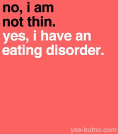 Eating Disorder Recovery (yes-butno: Anorexia and bulimia are not the only...)