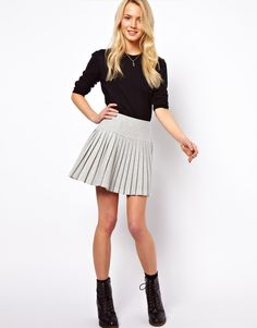 #asos                     #Skirt                    #ASOS #ASOS #Pleated #Mini #Skirt #with #Drop #Waist. #ASOS                   ASOS | ASOS Pleated Mini Skirt with Drop Waist. at ASOS                                                 http://www.seapai.com/product.aspx?PID=1381290