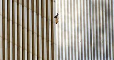 The unknown person known as The Falling Man, one of many that jumped from the World Trade Center on September 11, 2001.