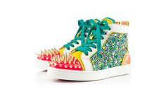 Christian Louboutin python via Luxury store. Click on the image to see more!