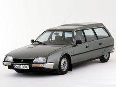 Citroen CX 2500D Familiar de 1980. 75 CV.
