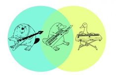 Funny pictures about Most Creative Venn Diagram Ever. Oh, and cool pics about Most Creative Venn Diagram Ever. Also, Most Creative Venn Diagram Ever photos. The Wombats, Math Art, Platypus, The Funny, Daily Funny, Memes, In This World, Nerdy, Funny Pictures