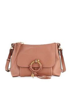 See by Chloe Ring Medium Coated Leather Shoulder Bag 01e9c5a0456
