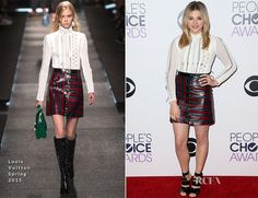 Chloe Grace Moretz In Louis Vuitton – 2015 People's Choice Awards