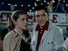 Elvis and Dolores Hart in Loving You, 1957
