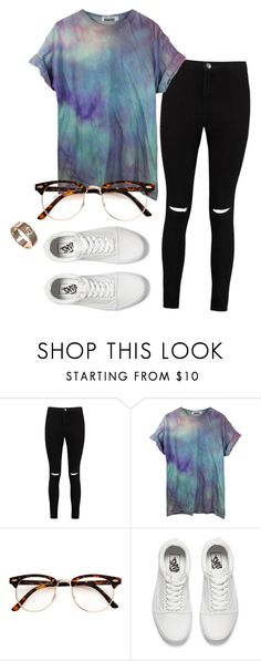 """#No name"" by eemaj ❤ liked on Polyvore featuring Boohoo, Vans and Cartier"