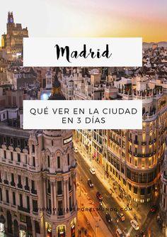 7 Ideas De Viajes Viajes Viajes Inolvidables Que Hacer En Madrid