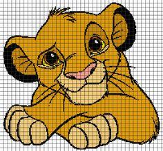 (4) Name: 'Crocheting : LION KING Graphghan Pattern