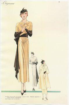 La moda francese negli anni '30  http://ellimiss.tumblr.com/post/76425732318/la-moda-francese-negli-anni-30-con-linizio