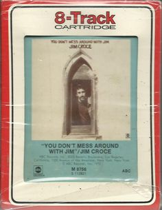 JIM CROCE You Dont Mess Around With Jim 8 TRACK TAPE MUSIC ALBUM