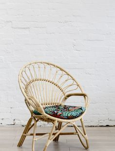 Rattan Round Chair Natural