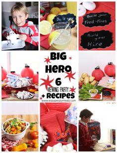 Big Hero 6 Viewing Party + Recipes - Eazy Peazy Mealz
