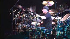 Rush - Neil Peart Drum Solo (Rush 30th Anniversary Tour) WIDESCREEN 1080p
