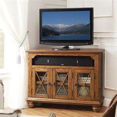 Riverside Furniture – Allegheny Corner TV Console