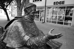 Statue of Thomas Wolsey, Lord Chancellor and Alter Rex, Ipswich