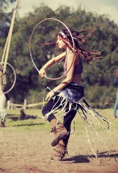 Christina Brittain Hoop Dancing