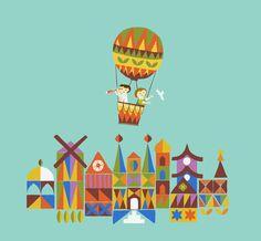 Voyage around the world Art Print by Budi Satria Kwan Kids World Map, Travel Nursery, Framed Art, Wall Art, Popular Art, Cute Illustration, Travel Illustration, Art For Sale, Diy Art