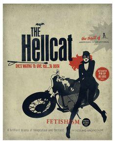 eroticolor:  the hellcat www.lorenzo-eroticolor.com