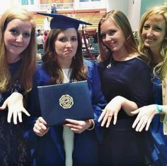 HAHAHAHA everyone's engaged and there's the one friend with a degree, that one would be me.