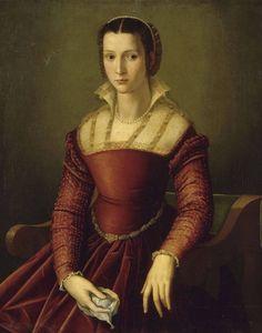 Floretine lady by Bronzino (or in the manner of Bronzino)