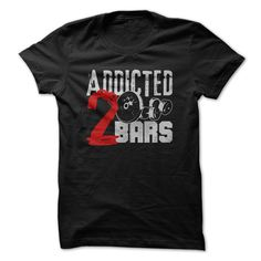 Addicted to • BarsAddicted to Barstrain, insane, gym, wear, back off, training, crossfit, cross fit, fitness, body building, bodybuilding, body builder, weights, insane, beast, run, ru