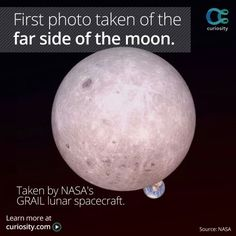 First photo taken of the far side of the moon