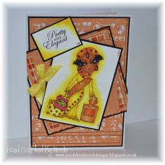 Scruffy Little Cat from Crafter's Companion: card by Nicole Bretherick, coloured with @Spectrum Noir