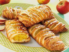 Pastas danesas de manzana