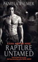 Rapture Untamed Bk. 4 Jag.  Have read this. Olivia, leader of a small Therian Guard unit, is his mate.  His back story is found at http://pamelapalmer.net/enter-world/feral.php#jag