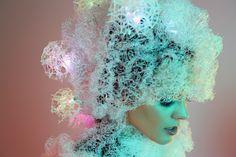 Wired Magazine. Sensoree Neurotiq wearable technology fashion. Photography by Elena Kulikova.