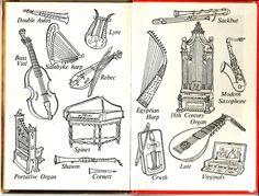 https://flic.kr/p/82a9rm | Musical Instruments | A Ladybird Book.