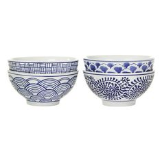 Pols Potten - Sushi Bowls - Set of 4