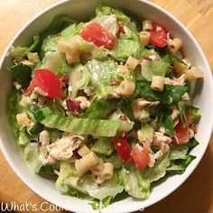 What's Cooking in the Burbs: Portillo's Copycat Chopped Salad