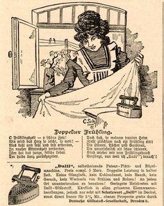 24 x Original-Anzeige 1898-1910 - DALLI PLÄTTMASCHINE - GLÜHSTOFF GES. - DRESDEN | eBay