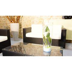 Vase lumineux TUBE à Leds- Idée cadeau pour la fête des mères #fete #fête #mère #motherday #idée #cadeau #vase #fleur #design #led #transparent #lumineux