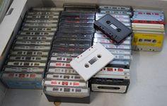 62 Stück Audiokassetten MC Kassetten,  zum neu bespielen TOP !