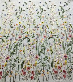 Elegent meisje jurk stof tulle guipure lace stof door Qualitylace1