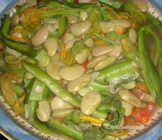 patani ken sabong-karabasa, lima beans and squash flowers stew ~ PINAKBET REPUBLIC