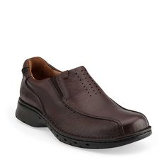 Un.Seal by Clarks.  Samin information as black but viewed in brown.  Sizes 7-15 M, W.  $149.95