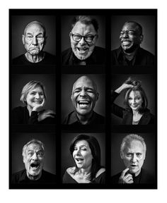 "Andy Gotts: ""i'm releasing 1 special Limited Edition print which contains 9 individual outtake shots of TNG cast."""