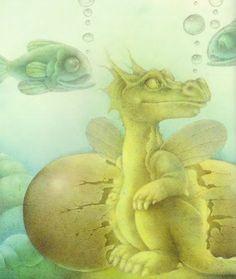 Wayne Anderson-Little Dragon Lost